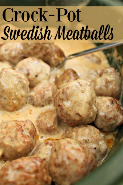 Looking for an easy main dish or appetizer? Try this recipe for Crock-Pot Swedish Meatballs. They taste great on their own or served over egg noodles.
