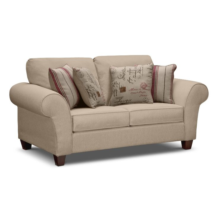 Pleasing Sofa Sleeper Twin Brown Soft Color Covers Two Seating Pieces Back Rest Curved