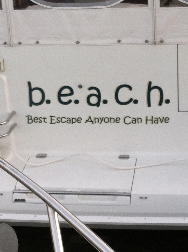 Best name for a boat!