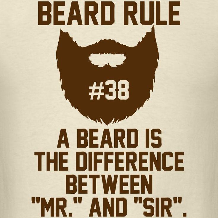 Beard Rule #38 T-Shirt | Beard Rules