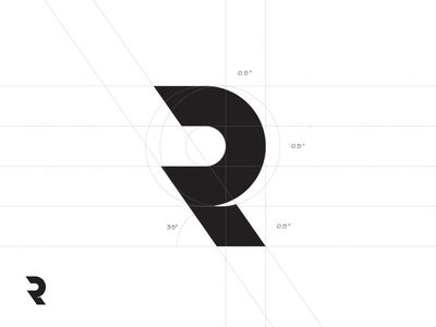 Just an R Monogram