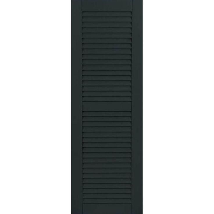 Best 25 louvered shutters ideas on pinterest - Exterior wood shutters home depot ...