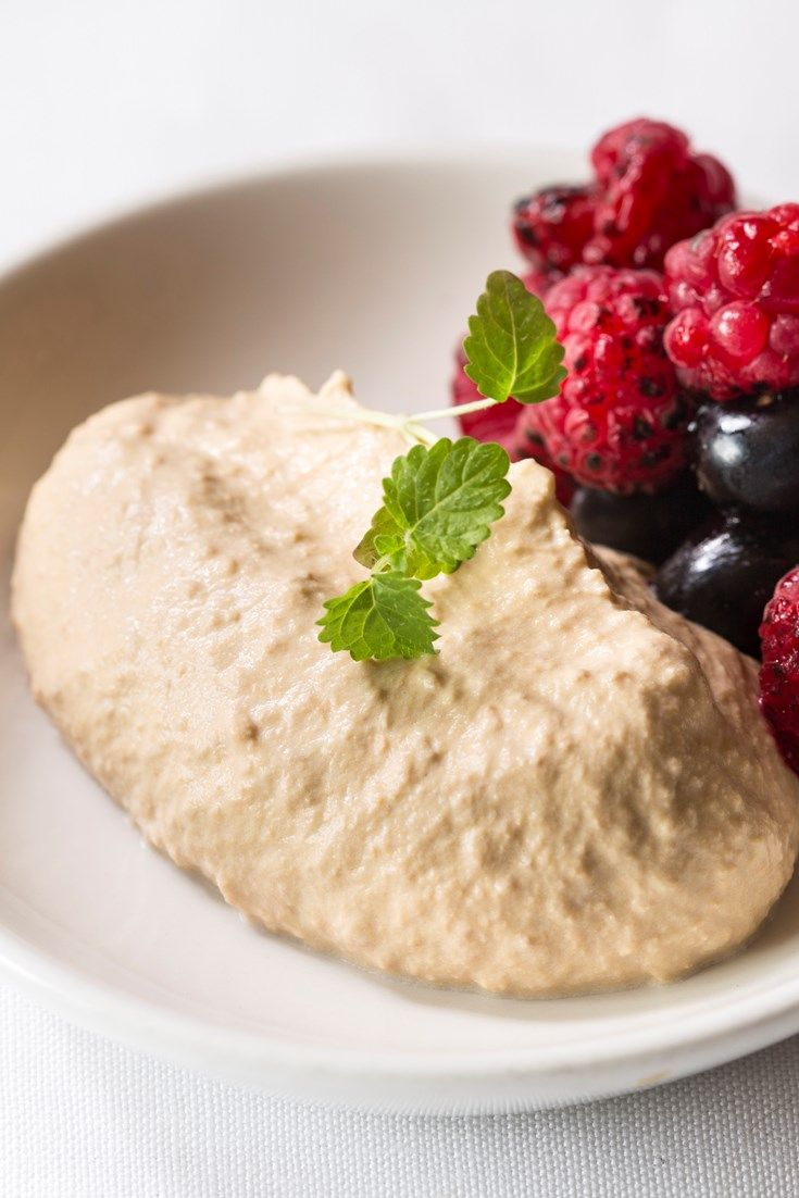 A simple, healthy dessert or breakfast, Ollie Moore adds a caramel flavour to to his yoghurt recipe by cooking it sous vide. Served with lightly burnt berries, this caramelised yoghurt recipe makes a delicious treat.