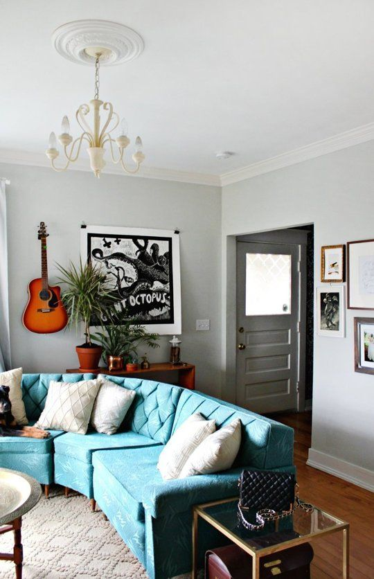 Mandi's Eclectic Fixer Upper — House Call | Apartment Therapy