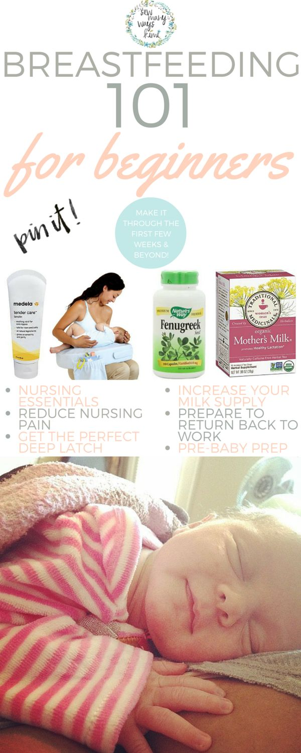 Get through the first few weeks and beyond, this is Breastfeeding 101 for beginners! Tips on returning back to work, how to increase milk supply, breastfeeding essentials and more!