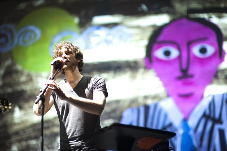 That handsome devil Gotye at Charter One Pavilion / Northerly Island in Chicago. Review by Marisa Ruiz and Photos by Pedro deJesus for Lost In Concert.