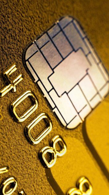 credit cards made of gold