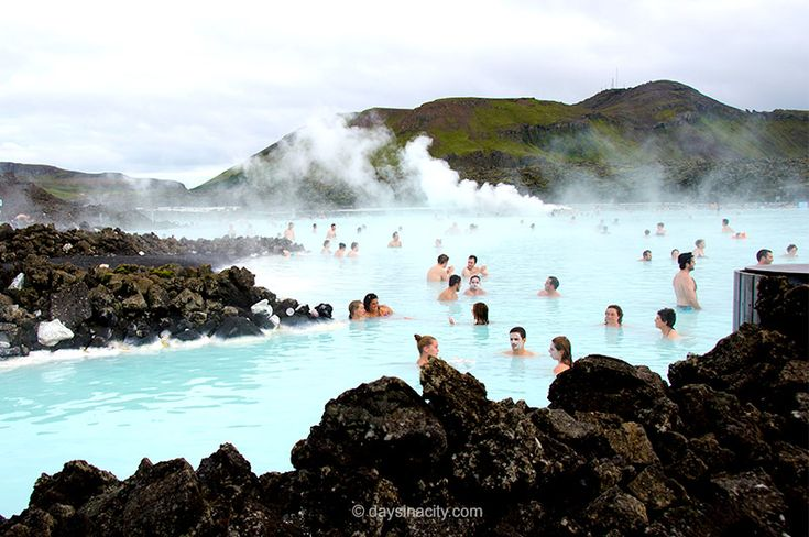 The Blue Lagoon, a short drive out of Reykjavik