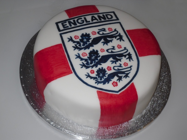 England cake by The Coloured Bubble Cakery - Find us on Facebook!!