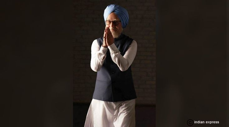 The Accidental Prime Minister: Anupam Kher as Manmohan Singh.  #TheAccidentalPrimeMinister #AnupamKher #ManmohanSingh
