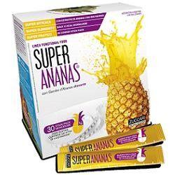 SUPER  ANANAS  Integratore alimentare a base di ananas. Contiene estratto di gambo d'ananas che favorisce il drenaggio dei liquidi, contrastando inestetismi della cellulite e pesantezza delle gambe; favorisce inoltre la funzione digestiva. Senza zuccheri aggiunti (contiene in natura zuccheri), coloranti, glutine, né OGM. Non contiene lattosio. Solo 13 kcal al giorno.   SCONTO DEL 12%  #integratore #drenante #ananas #cellulite #benessere #salute