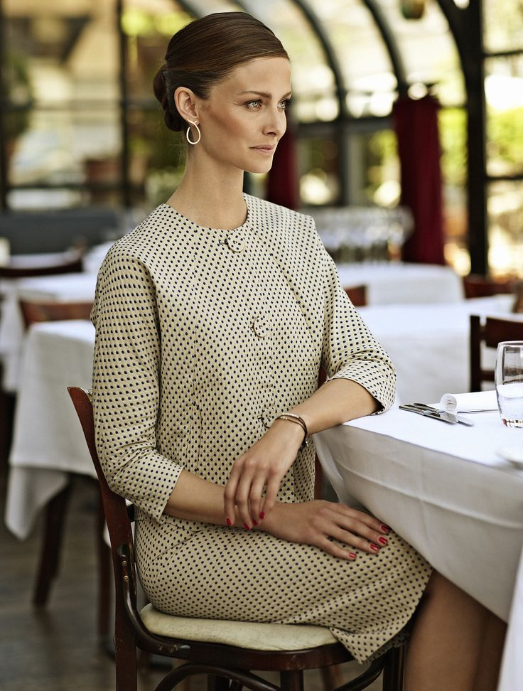 Rützou AW13 skirt and jacket in Alt for damerne nr. 31, august issue.  Photographer: Lars H.  Stylist: Anette Hvidt