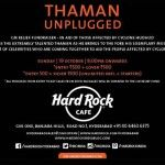 S S Thaman Unplugged Posters