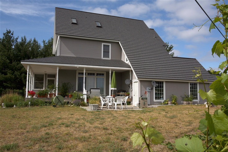 My dream is a dark charcoal metal roof american metal for Dream roof