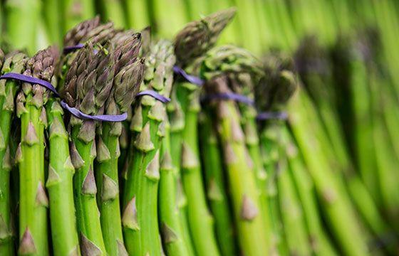 Seasonal Spring fav - Asparagus | The Happy Apple