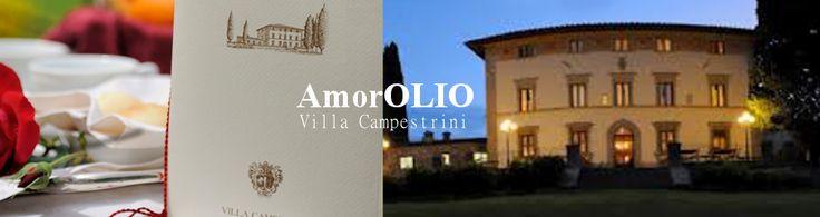 AmorOlio | Villa Campestri | Vicchio #Tuscany #events