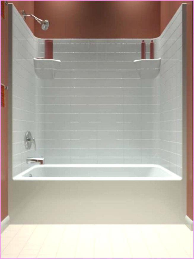Bathtub Shower Combo One Piece Home Design Ideas One Piece Shower