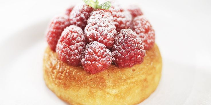 Martin Wishart's rum baba recipe is a fantastic way to enjoy these wonderful rum cakes. Use good quality rum to make the rum babas, and garnish with raspberries