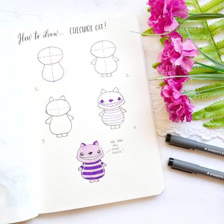 Милые картинки в ежедневник нарисовать