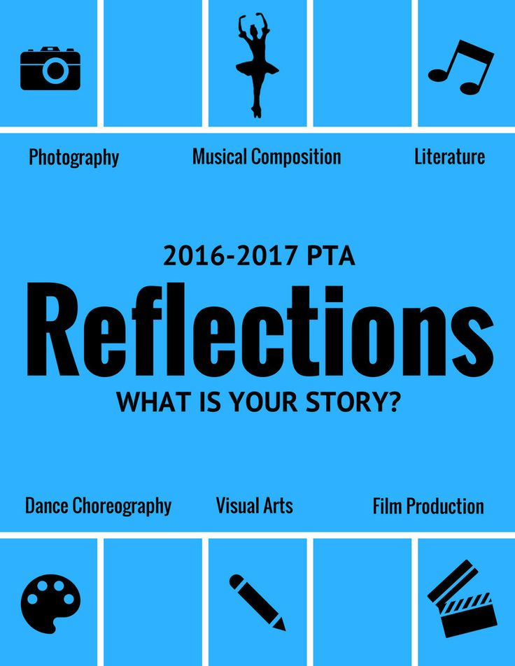 PTA Reflections Poster {2016-2017 Theme: What is your story?} Ready to print poster printable sign by StreamlinedLiving on Etsy