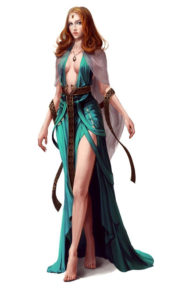mage, zhou Zeke on ArtStation at https://www.artstation.com/artwork/3eymE. Sexy mage noble
