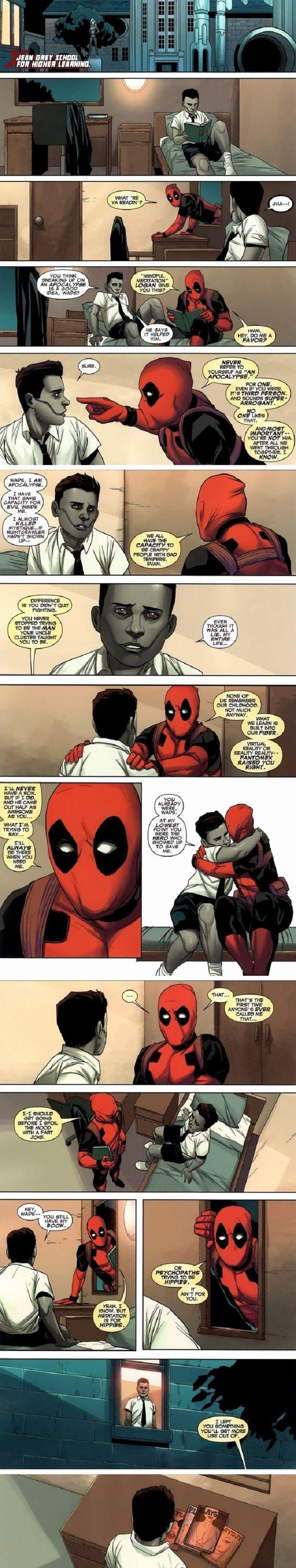 Deadpool is so nice. c: