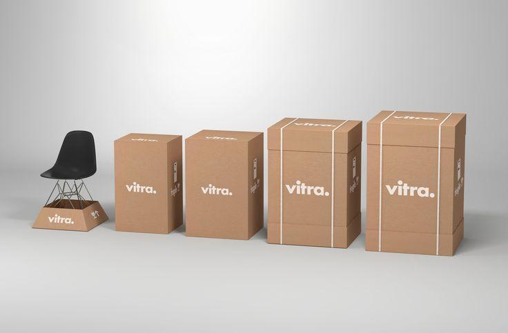 Package design for Vitra by Swedish design studio BVD