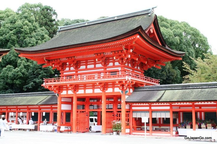 Shimogamo Shrine is one of the oldest shrines in Japan and is a World Heritage Site.