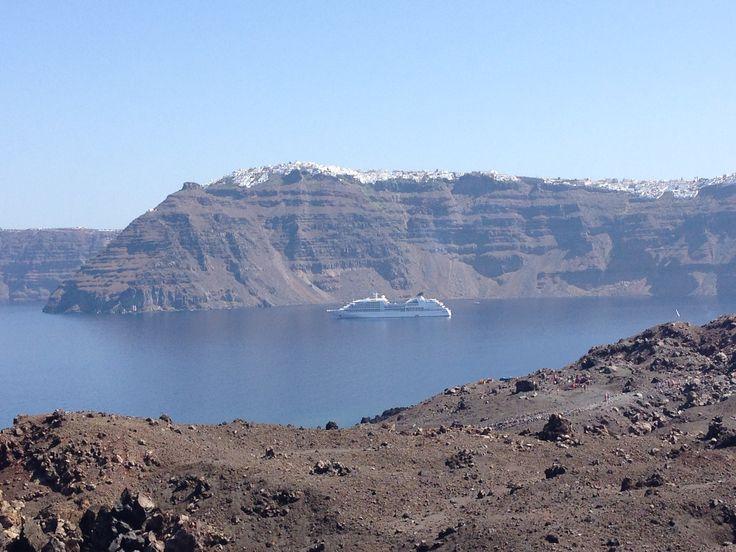 Sul vulcano di Nea Kameni