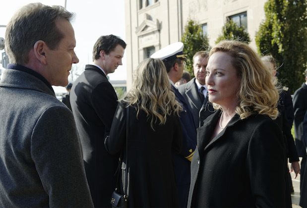 DESIGNATED SURVIVOR - Virginia Madsen will not be returning for Season 2, in the recurring role of Kimble Hookstraten.