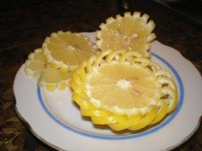 cesta de frutas cítricas e vegetais passo a passo