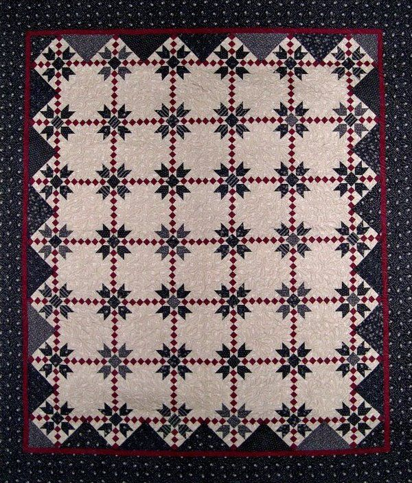 Sherman's March Pattern Civil war quilt Love this one. Pattern is 10.