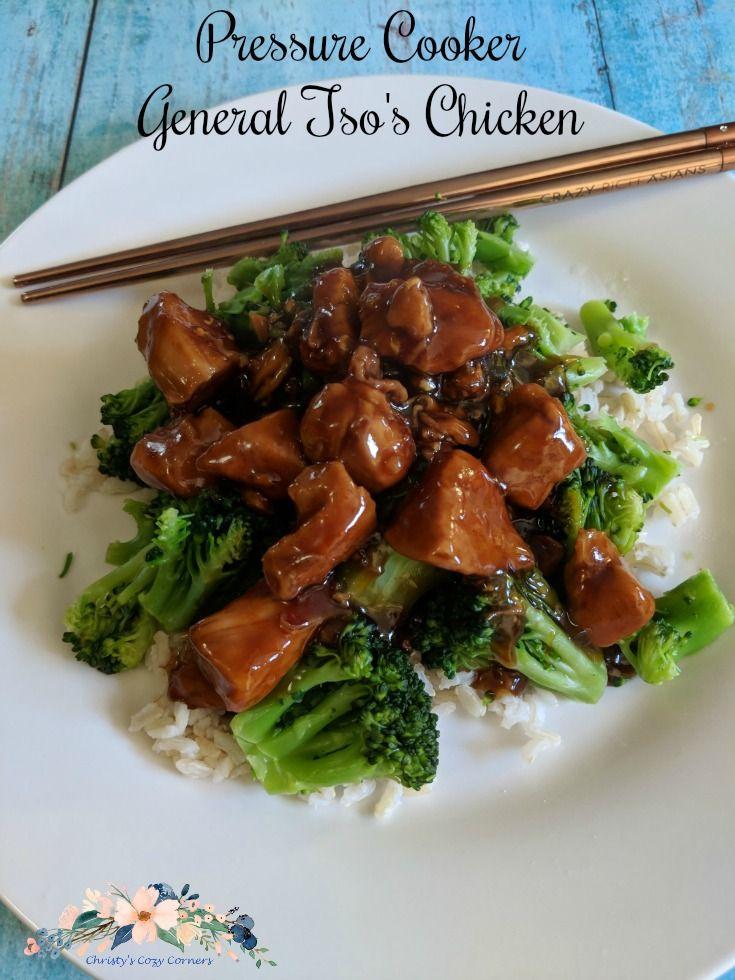 General Tsos Chicken Recipe Chicken Meal Ideas Pinterest