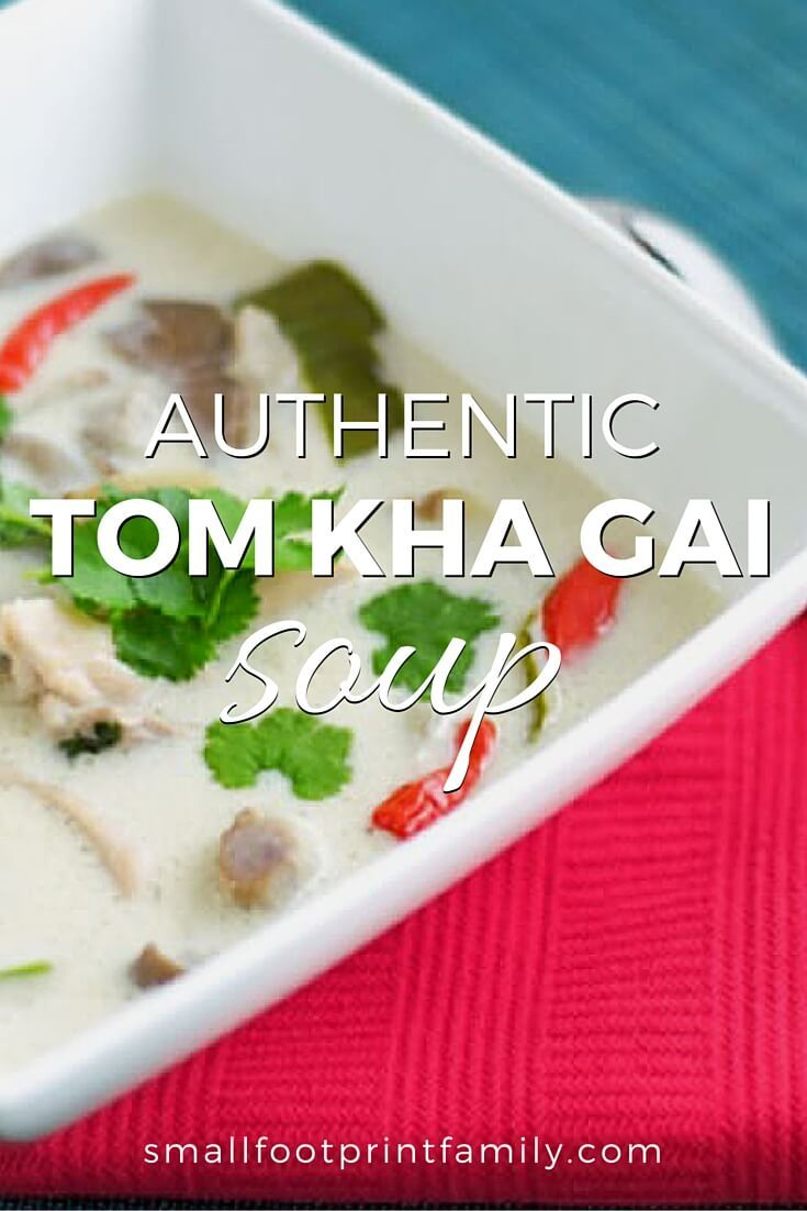 "After perusing a bunch of Americanized recipes, I realized I just wouldn't be happy without the authentic Tom Kha ingredients to make it taste right. Click here to get the ""real deal"" recipe!"