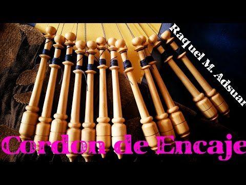 Cordón de Encaje de Bolillos (nivel aprendiz) - YouTube …