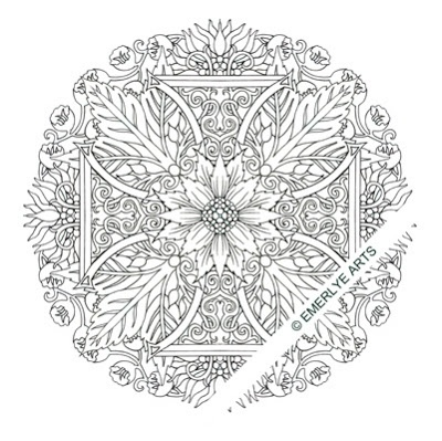 175 best images about scottish celtic tattoos i love for Celtic knot mandala coloring page