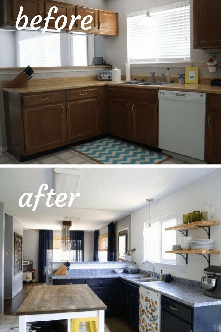 Before And After Photos Of A Diy Budget Kitchen Renovation Gorgeous Kitchen Makeover Interior Design Kitchen Small Interior Design Kitchen Kitchen Renovation
