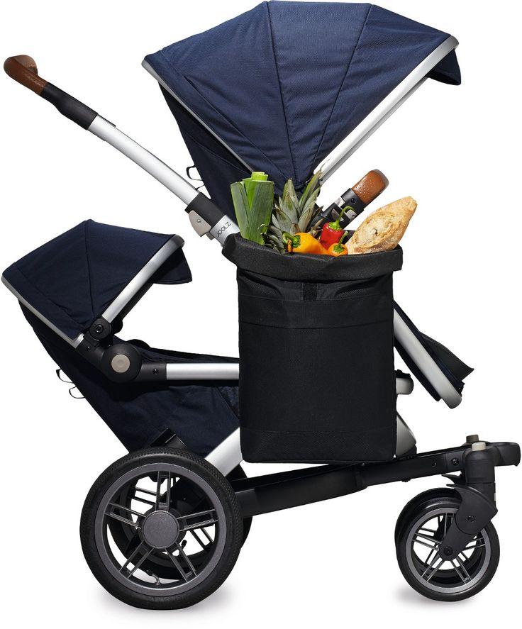 Joolz Geo Sidepack Einkaufstasche in Schwarz - Joolz Geo Earth Kinderwagen