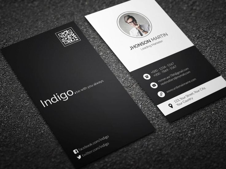 8 best vertical business visiting card images on pinterest minimal vertical business card by remon92 cheaphphosting Gallery