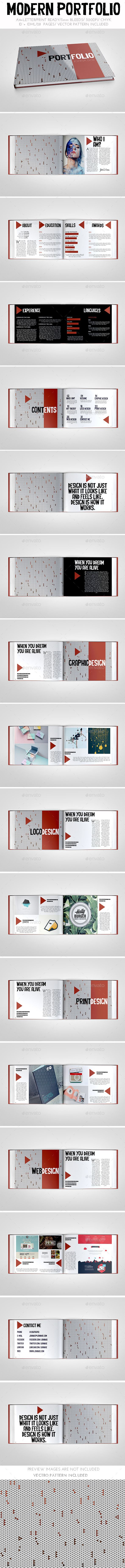 Modern Portfolio Brochure Template. Download…