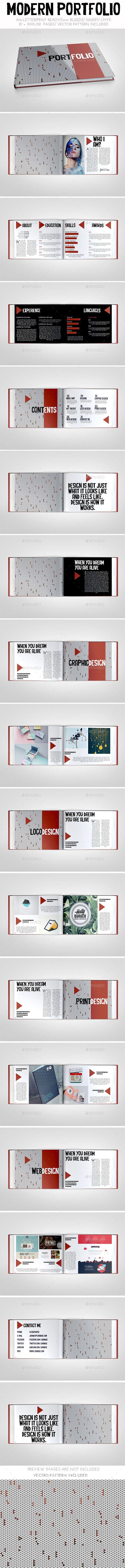 Modern Portfolio Brochure Template. Download: http://graphicriver.net/item/modern-portfolio-brochure/11290170?ref=ksioks