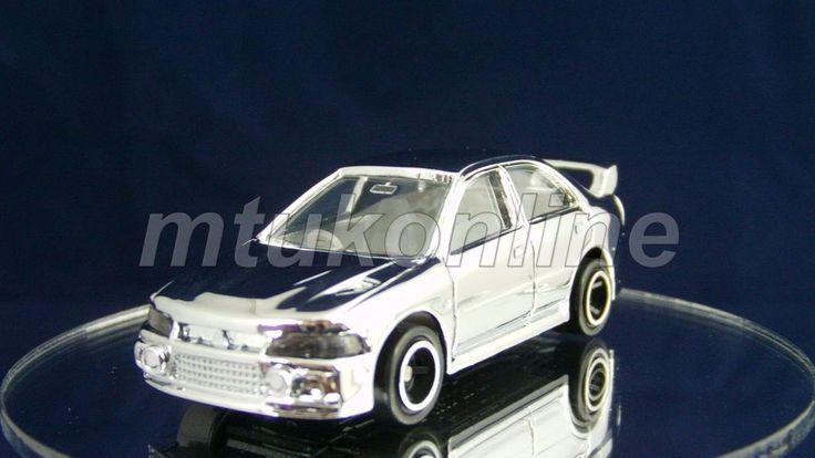 TOMICA 104 MITSUBISHI LANCER EVOLUTION IV | 1/59 | SILVER PLATED SERIES 2003