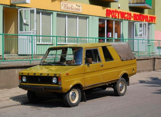 Tarpan pick-up