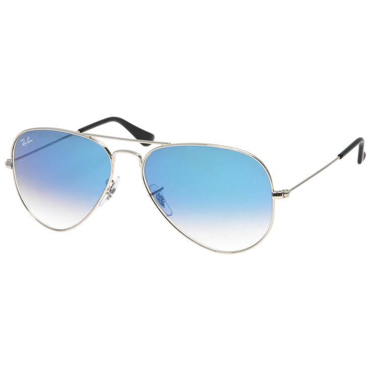 Mode Trend Sonnenbrille Sonnenuntergang Sonnenbrille , Silber / Silber