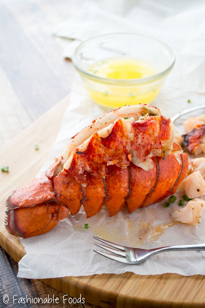 These perfect lobster tails make a wonderful main dish for your New Year's Eve celebration! They are succulent and juicy and come out perfect every time!