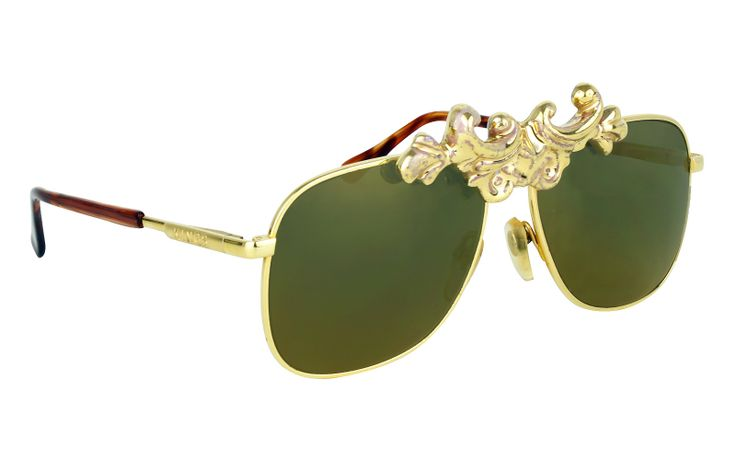 One of the main trends of the season: RUNWAY GOLD | MOO EYEWEAR G/S ANGER 2 GOLD sunglasses