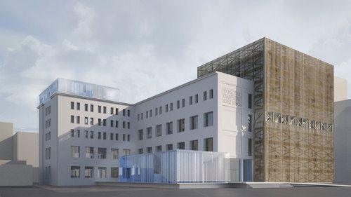 Ortner & Ortner Baukunst — Hochschule für Schauspielkunst Berlin