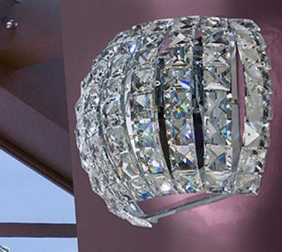 AZzardo Sophia - Vägglampa Kristall