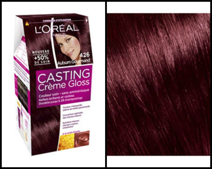 love reflets casting crme gloss reflets 426 auburn gourmand - Coloration Casting Crme Gloss