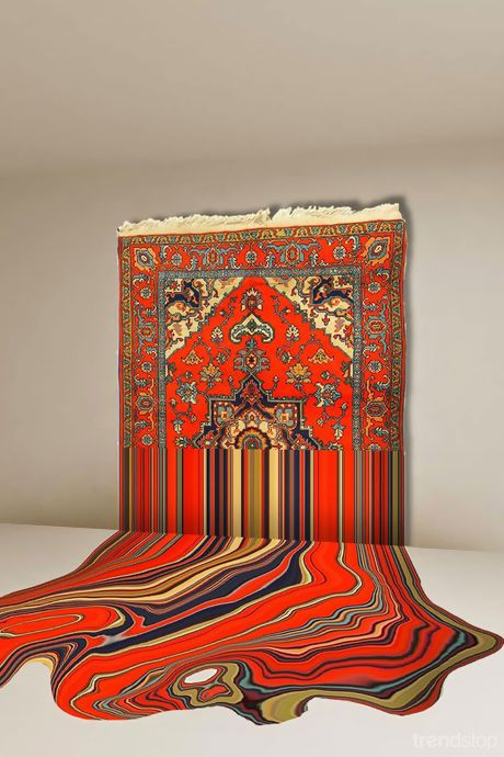 Faig Ahmed - sculptural creations inspired by traditional Azerbaijani rugs